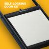 Self-Locking Door Kit