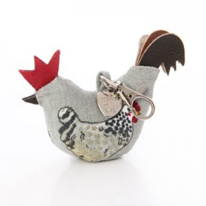 ChickenGuard Christmas Gifts for Chicken Keepers Chicken Keyring